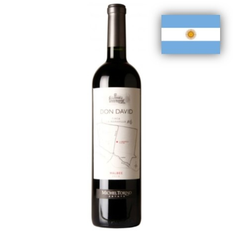 Malbec Don David Finca Maravilla Michel Torino 1