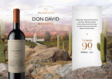 Don David Malbec El Esteco 2017 - 90 pts Wine Spectator