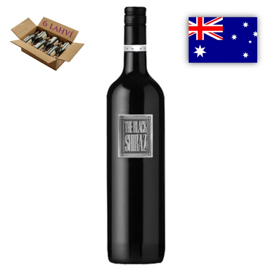 Black Shiraz Metal Berton Vineyards - karton 6 lahvi vina