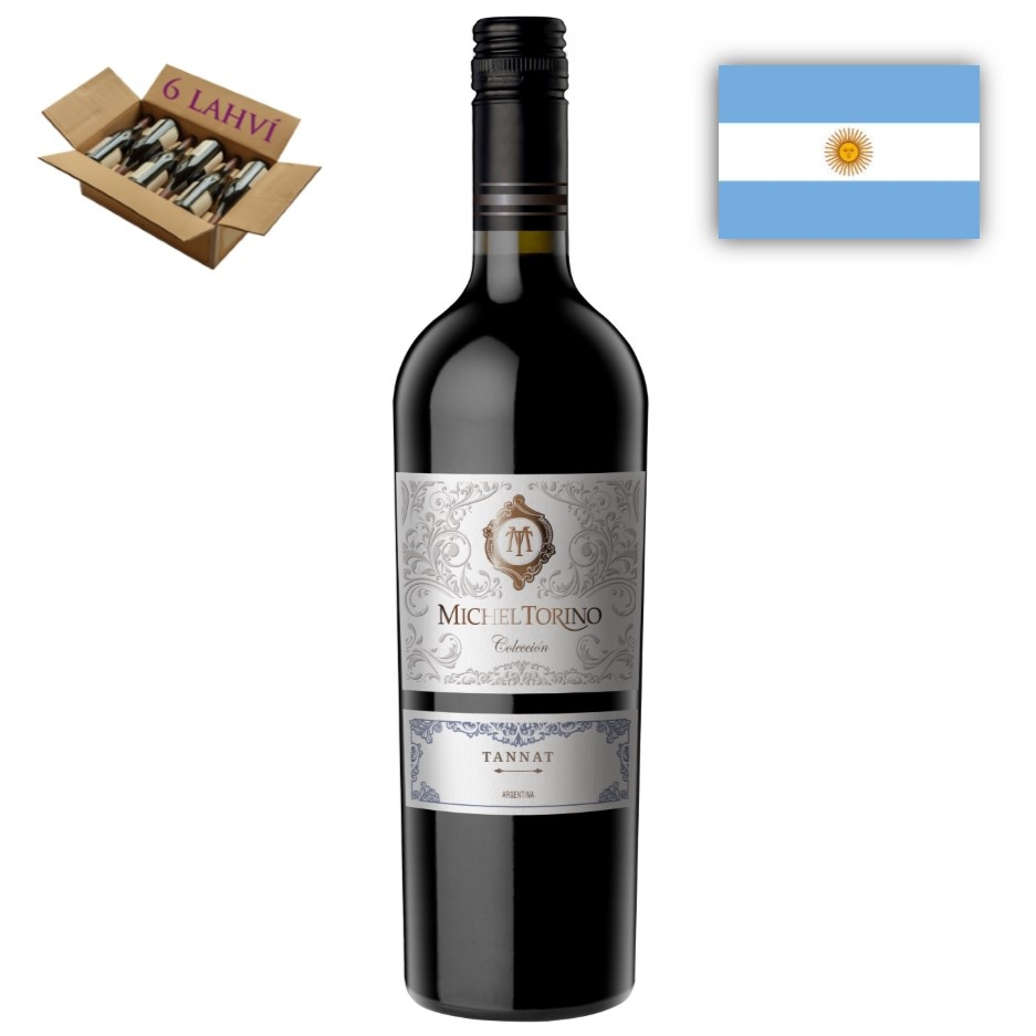 Tannat Collection Michel Torino El Esteco karton 6 lahvi vina