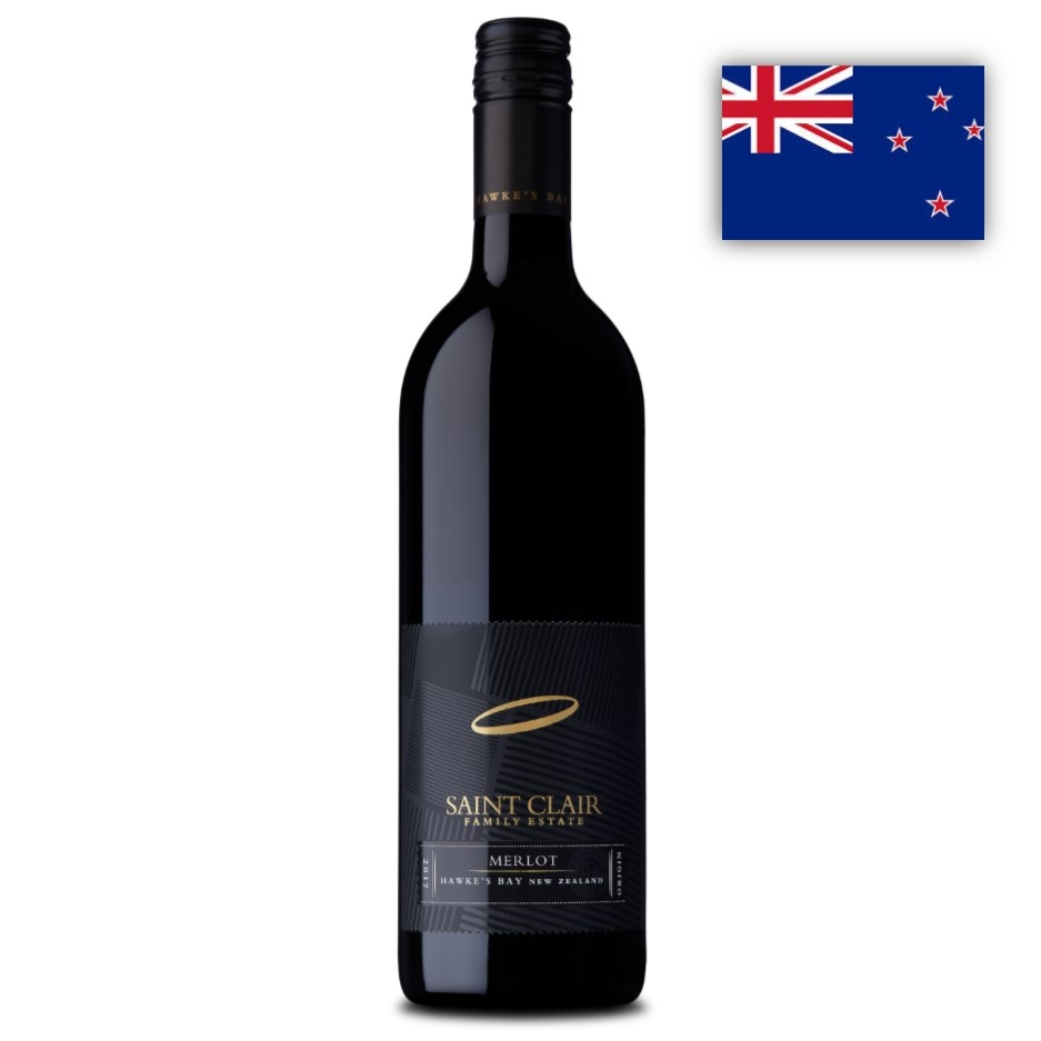 Merlot Hawke´s Bay Saint Clair 1