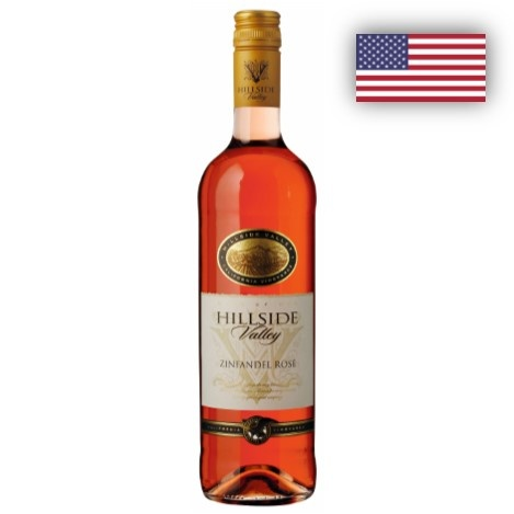 Zinfandel Rose Hillside 1