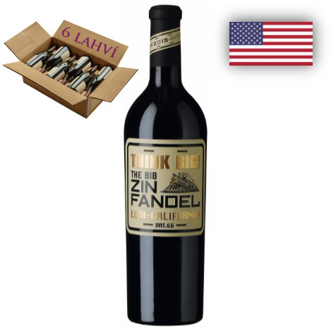 Zinfandel Think Big - karton 6 lahvi vina