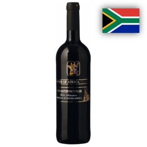 Cinsauld/Pinotage, Game of Africa, Taster Wine