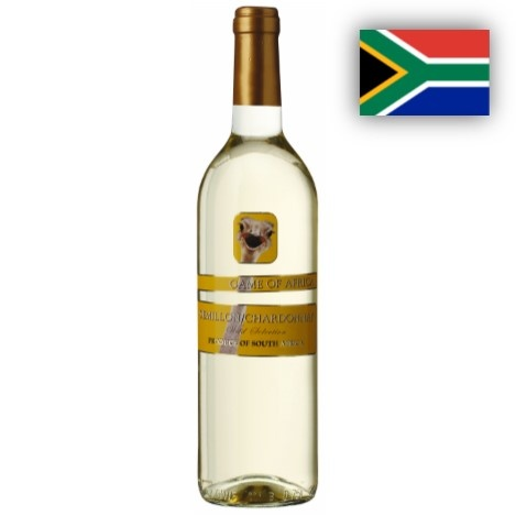 Semillon Chardonnay Game of Africa 1